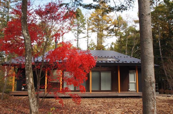 軽井沢の別荘K