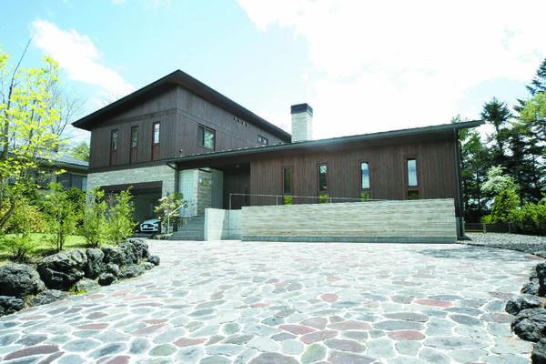 矢ケ崎の別荘